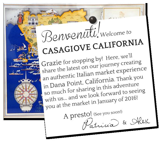 Benvenuti Welcome to Casagiove