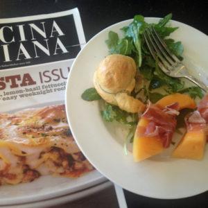 Ciamella Recipe, Serve with Arugula Salad