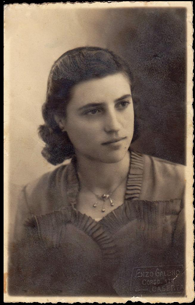 Zia Ninuccia, the inspiration for Casagiove California